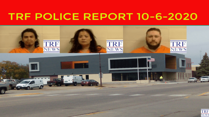 TRF Police Report 10-6-2020