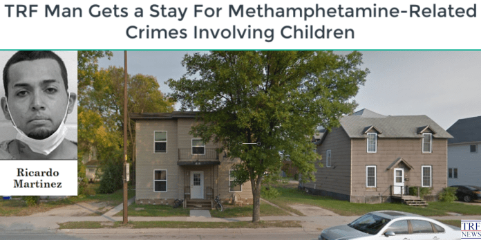 TRF Man Gets a Stay For Methamphetamine-Related Crimes Involving Children