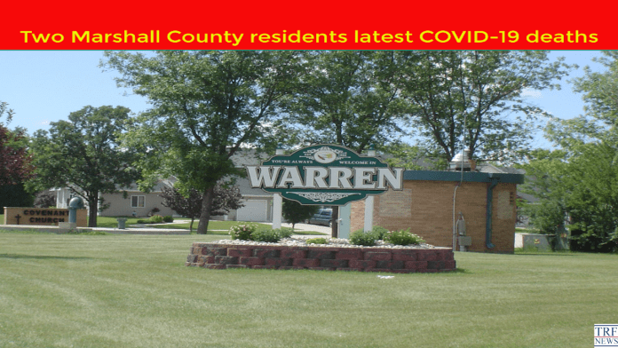 Two Marshall County residents account for latest COVID-19 related deaths